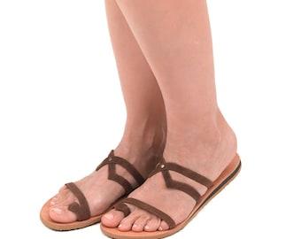 Leather sandals • Greek sandals • Handmade sandals • Women sandals • Summer sandals • Boho sandals • Flat sandals • Roman sandals