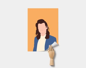 Harry Styles Poster. Harry Styles One Direction Poster. Print.