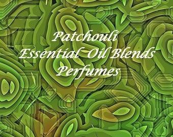 Essential oil perfume - Patchouli  - Patchouli Essential Oil Fragrance - Roll on Fragrance - Roll on Perfume - All natural perfume - Perfume