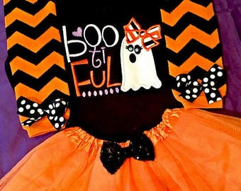 Baby Girl Halloween Outfit, Girl Toddler Halloween Outfit, Girl Halloween Outfit, Halloween Tutu  Set, Ghost Halloween Outfit