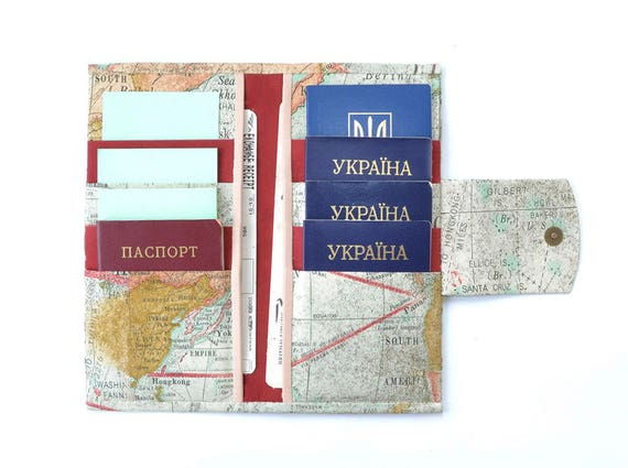 8 passport wallet family passport holder family passport like this item gumiabroncs Image collections