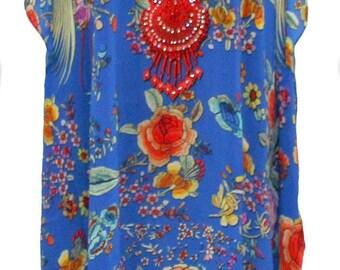 Blue Flower - Long