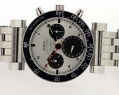 Xemex Offroad Tachymeter Stainless Steel Wrist Watch