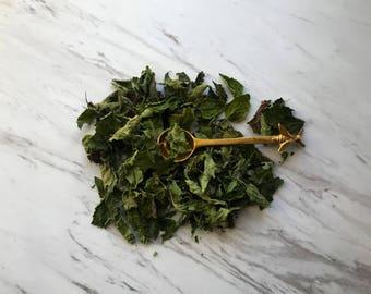 Organic Lemon Balm Loose Leaf Tea. Dried Herbs. Lemon Balm. Vegan Friendly. Medicinal. All Natural.