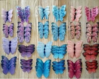 Garden variety Pink, Purple and Blue set 72 Bakery starter Kit
