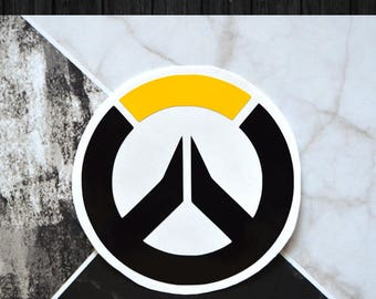 Overwatch Logo Vinyl Decal | One or Two Colors