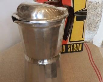 Vintage French Moka Coffee maker SEB 1960's Original Box