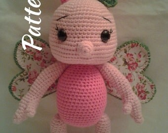 PATTERN - Baby Butterfly Becky - Crochet Amigurumi Pattern