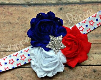 Fourth Of July Bow, Baby 4th Of July, 4th Of July Headband, July Bow For Baby, July Accessories, July Headband Baby, Baby July Headband, Bow