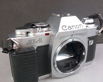 Canon AL-1 Quick Focus Vintage 35mm Reflex Camera Body FD mount