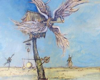 Tribute to Don Quixote