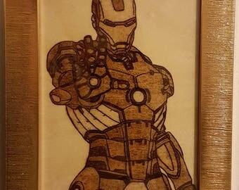 Woodburning - Ironman