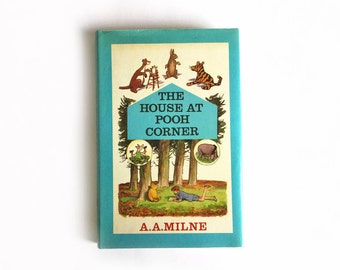 A A Milne - House at Pooh Corner Methuen 1974 hardback edition