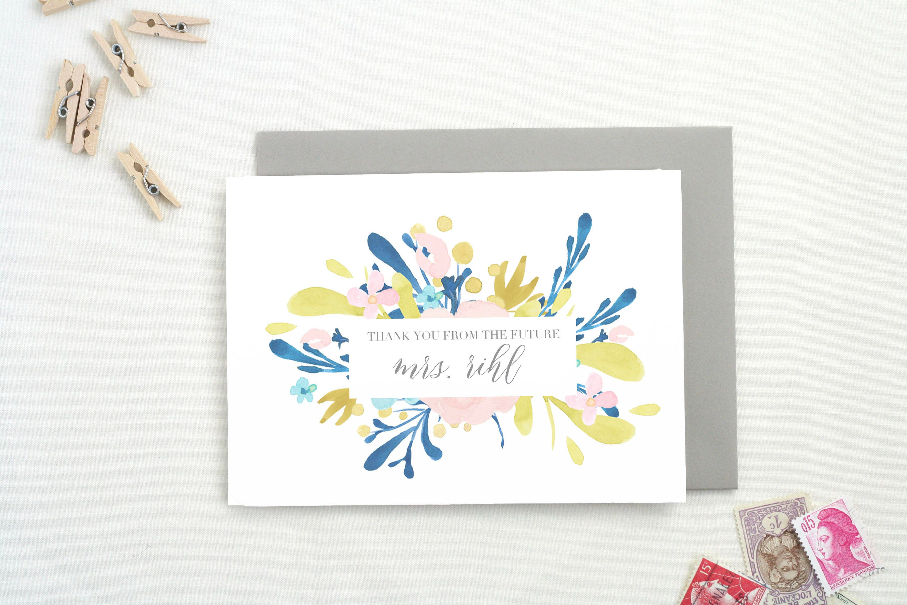 Wedding Shower Gifts For Her: Gifts For Her 2016. Thank You Cards Wedding Shower. Newly