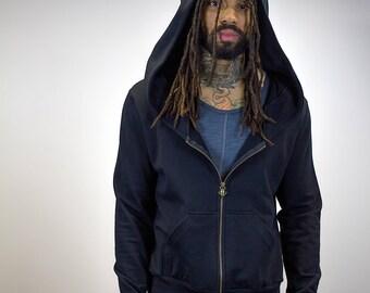 Zip-Up Doomlord Hooded Sweatshirt, Men's