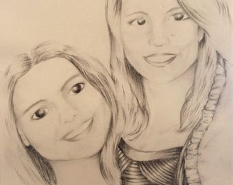 Regalo personalizado / Retrato personalizado / Customised Portrait /ilustraciones personalizadas / personalized  illustration portrait /