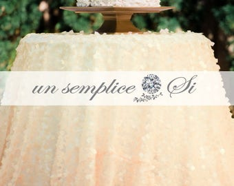 Sequin Tablecloths, Sequin Runners, Sequin Overlays, QUICK DELIVERY !