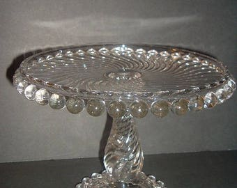 Vintage Ball and Swirl Cakestand