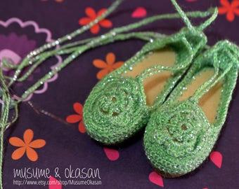 Glittery Espadrilles for Minifee Moe