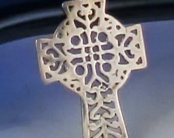 Sterling Silver Coptic Cross Pendant Gift - Coptic Cross Sterling Silver Pendant Gift  for a Christian - Religious Cross Gift for Christian