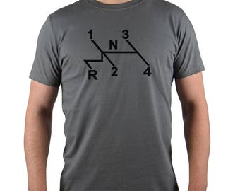 VW Shift Pattern T-Shirt
