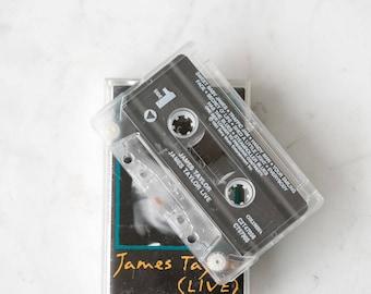 Janes Taylor live cassette tape