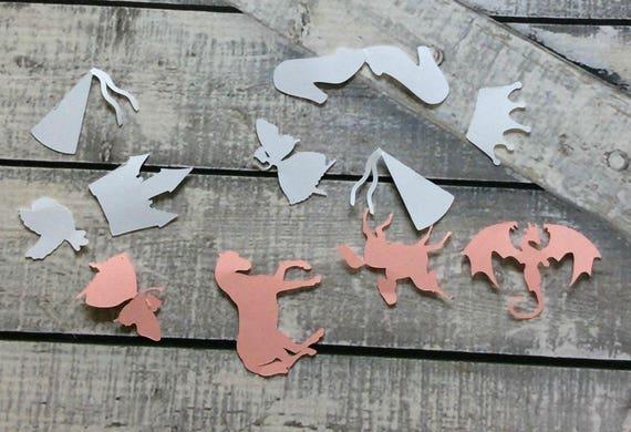 Fairytale Confetti, Princess Confetti,Fairy Tale Birthday Party,Princess Party,Fairy Tale Party,Princess Baby Shower Decorations,Princess