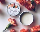 SAFFRON & HONEY Solid Perfume | Natural Perfume Balm