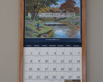 Cherry Calendar Frame