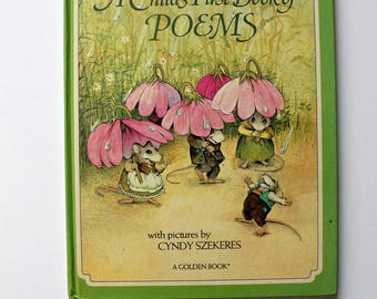 Cyndy Szekeres A Childs First Book of Poems 1981