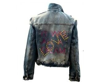 It Was All A Dream Jean Denim jacket