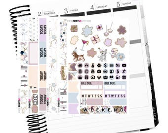 Let's Celebrate Planner Sticker Kit