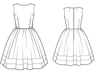 Audrey Sleeveless Dress