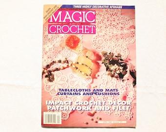 Magic Crochet Magazine - Number 101 - April 1996 - Vintage