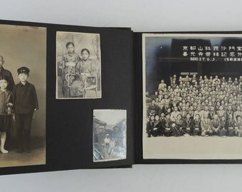30's-50's Japanese Old Photo Album (61 photos)