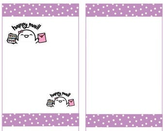 Happy Mail Stickers, Fingie Stickers, Planner Stickers -006