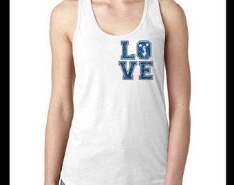 Cheer, Love Cheerleading Tank, Cheer Glitter, Cheerleader Top