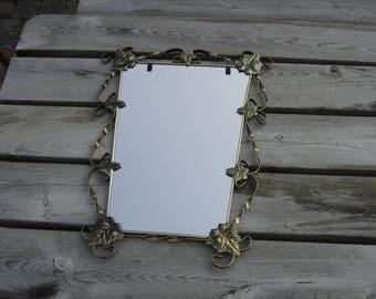 Miroir vintage. 70's Mirror. No copy.  France