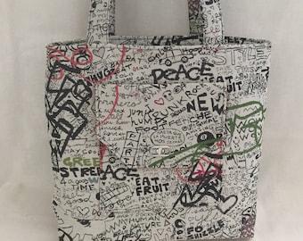 Large Shoulder Bag Tote Super Cool Designer Denim Shoulder Bag Work and Play Tote Urban Style Office Travel Tote