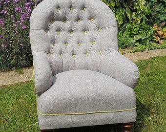 Victorian Ironback armchair