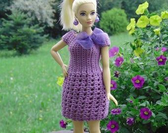 Curvy Barbie dress, curvy barbie clothes, curvy barbie, barbie dress, barbie fashion, curvy barbie fashion, barbie fashionistas, crochet