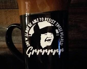 Stranger things Dustin mug