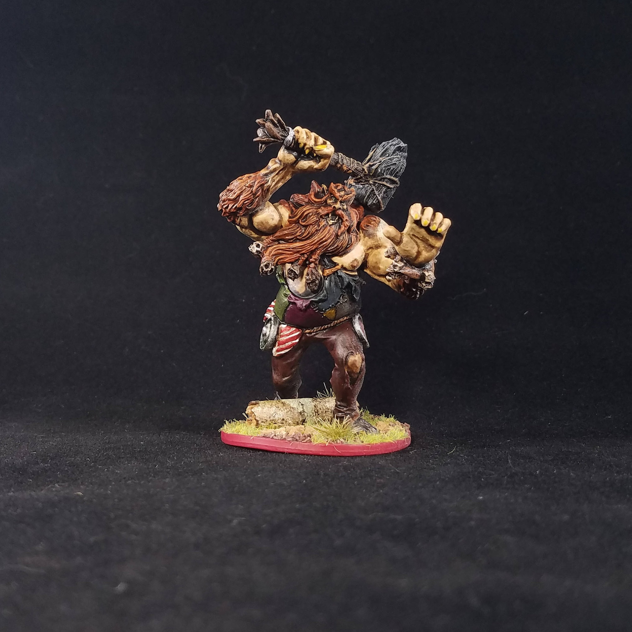 Firbolg Druid Painted Mini From Descent: Journeys In The