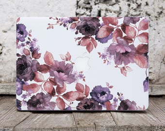 Floral Macbook Decal Laptop Cover Sticker Macbook 12 Laptop Decal Macbook Cover Laptop Stickers Macbook Air Decal Computer Sticker SK3035