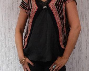 Vintage Croched Top Vest