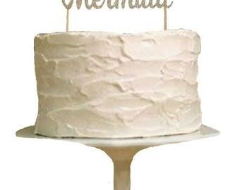 Pirate or Mermaid Gender Reveal Cake Topper - Gender Reveal Cake Topper - Gender Reveal Party - Gender Reveal Decor - Baby Shower Cake