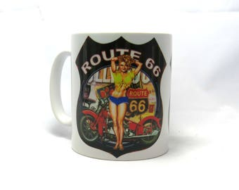 Route 66 Mug Mother Road Historic Route 66 Road Sign America Home Decor Gift