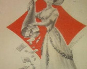 Nice Fantay Vintage Postcard