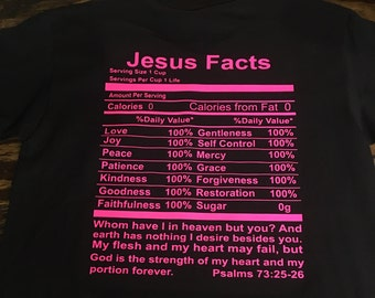 JESUS FACTS TEE