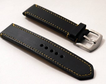 The English Harness Leather Watch Strap